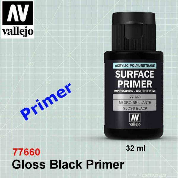 Vallejo 77660 Gloss Black Primer