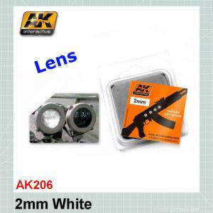 White lens 2mm