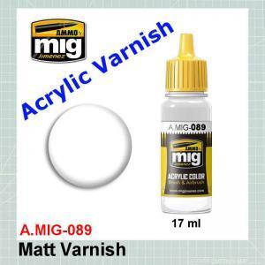 AMMO Mig 0089 AMMO Mig Matt Varnish
