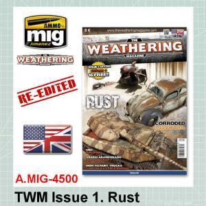 AMMO Mig 4500 TWM Issue 1. Rust