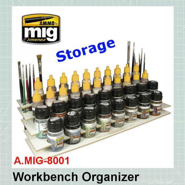 AMMO Mig Paints storage