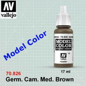 VALLEJO 70826 German Camouflage Medium Brown