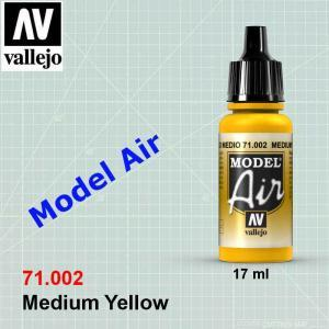 VALLEJO 71002 Medium Yellow