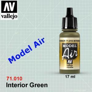 VALLEJO 71010 Interior Green