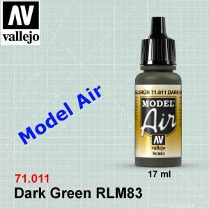 VALLEJO 71011 Dark Green RLM83