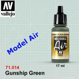 VALLEJO 71014 Gunship Green