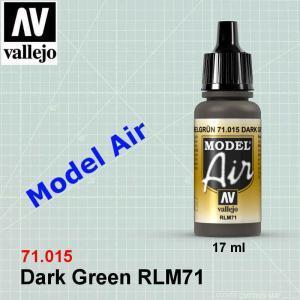 VALLEJO 71015 Dark Green RLM71