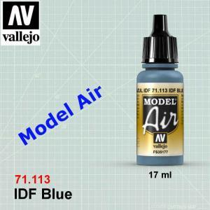 VALLEJO 71113 IDF Blue