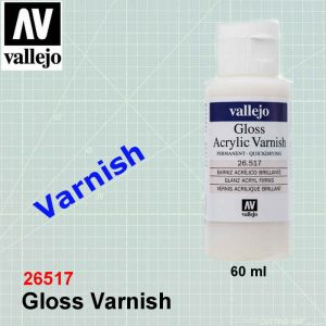 Vallejo 26517 Gloss Varnish