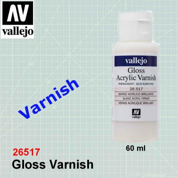 Vallejo 26517 Gloss Varnish
