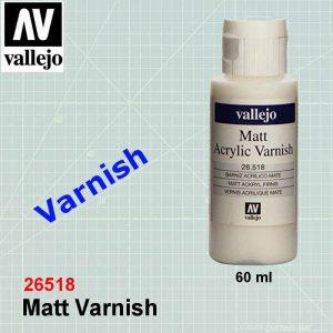 Vallejo 26518 Matt Varnish