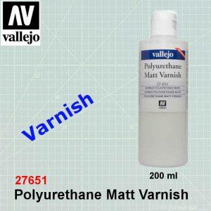 Vallejo 27651 Matt Varnish