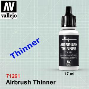 Vallejo 71261 Airbrush Thinner