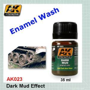 AK023 Dark Mud Effect