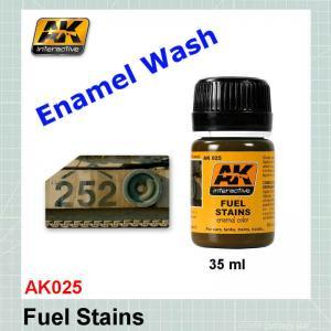 AK025 Fuel Stains