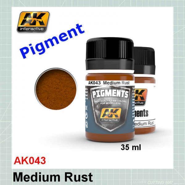 AK043 Medium Rust Pigment