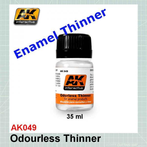 AK049 Enamel Odorless Thinner