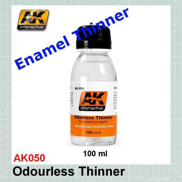 AK050 Enamel Odorless Thinner