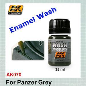 AK070 Wash for Panzer Grey