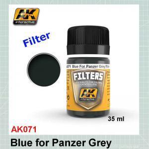 AK071 Blue for Panzer Grey