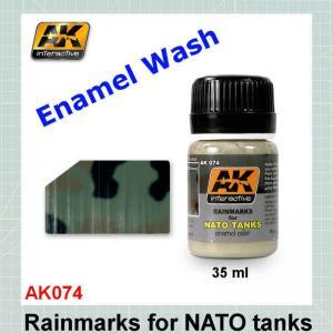 AK074 Rain Marks for NATO Tanks