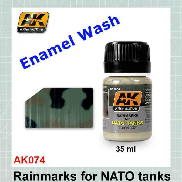 AK074 Rain Marks for NATO Tanks
