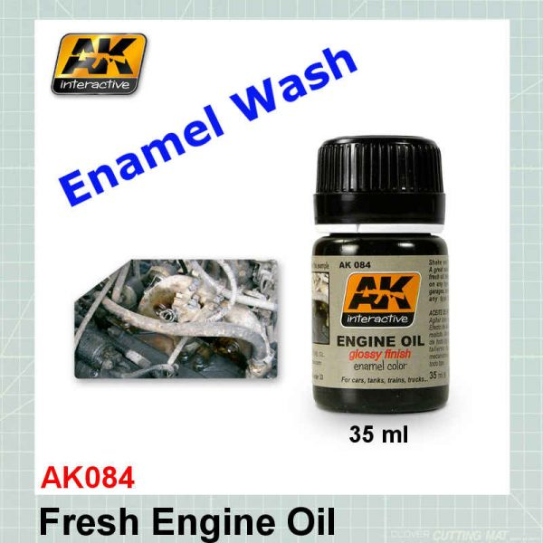 AK084 Fresh Engine Oil
