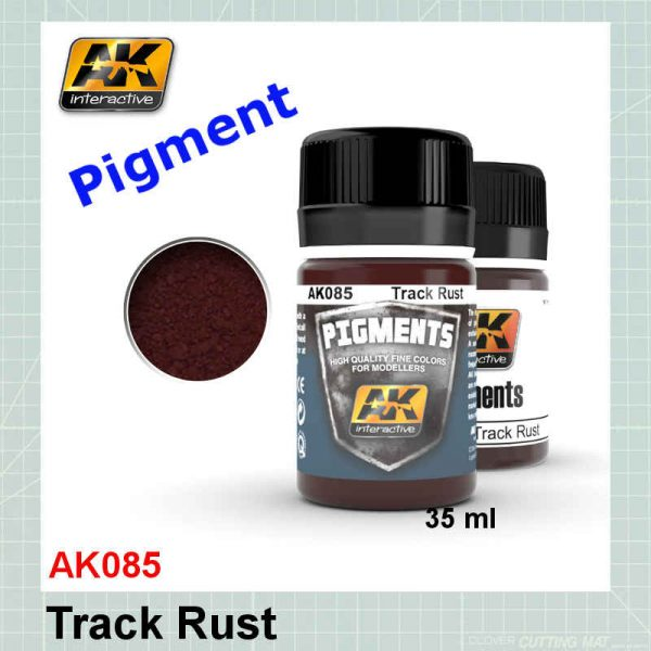 AK085 Track Rust Pigment