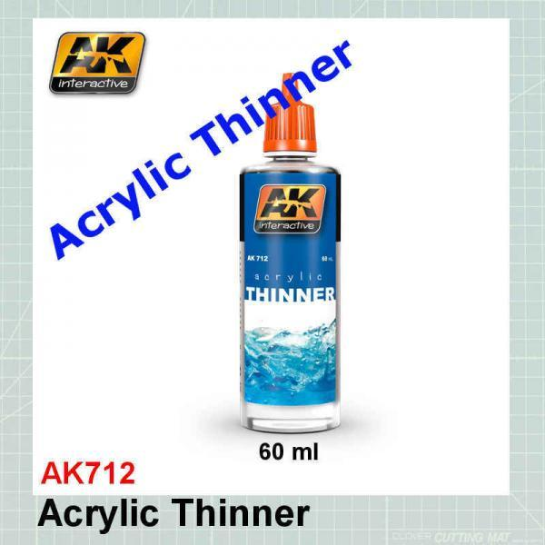 AK712 Acrylic Thinner