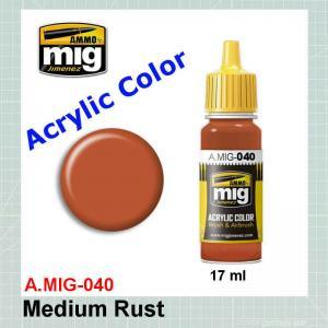 AMMO Mig 0040 Medium Rust