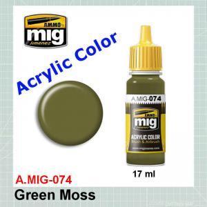 AMMO Mig 0074 Green Moss