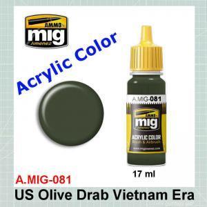 AMMO Mig 0081 US Olive Drab Vietnam Era FS24087