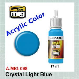 AMMO Mig 0098 Crystal Light Blue