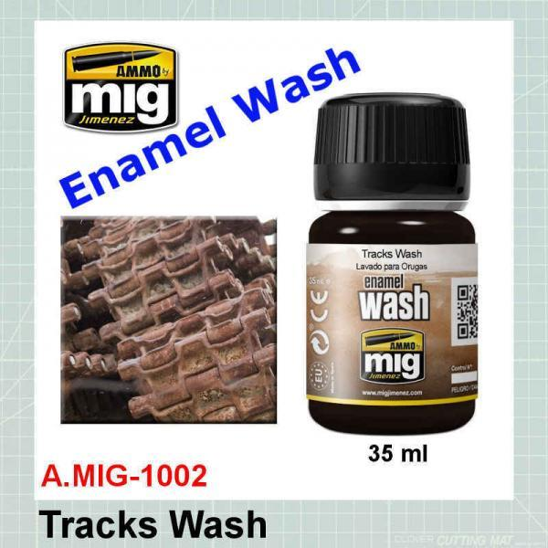 AMMO Mig 1002 Tracks Wash