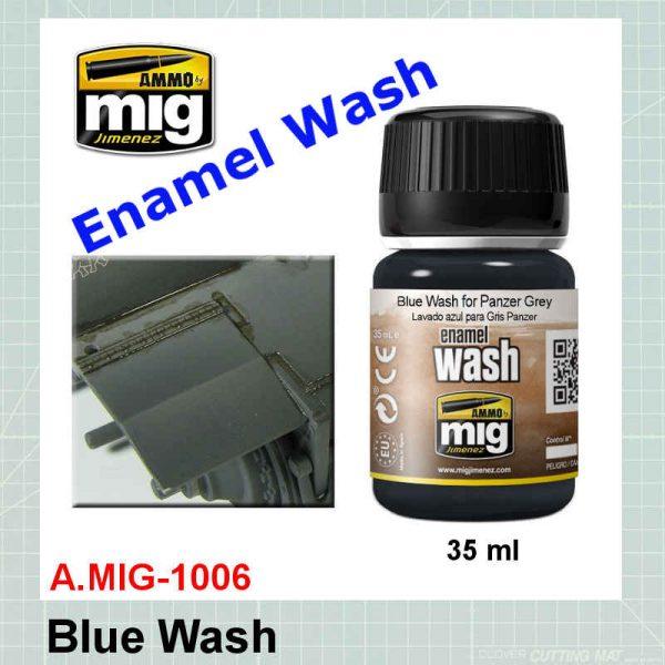 AMMO Mig 1006 Blue Wash for Panzer Grey