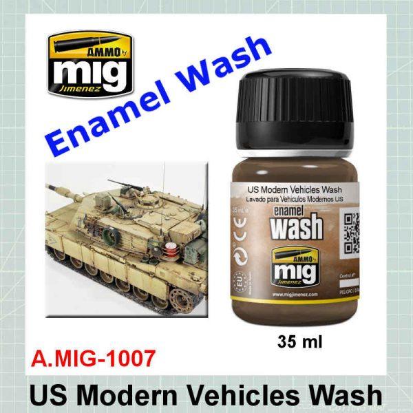 AMMO Mig 1007 US Modern Vehicles Wash