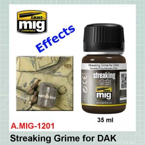 AMMO Mig 1201 Streaking Grime for DAK