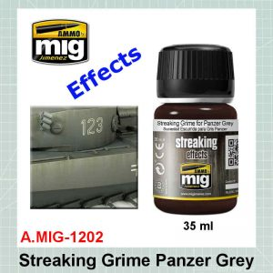 AMMO Mig 1202 Streaking Grime for Panzer Grey