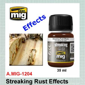 AMMO Mig 1204 Streaking Rust Effects