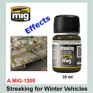 AMMO Mig 1205 Streaking for Winter Vehicles