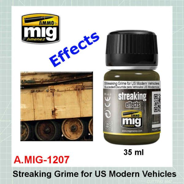 AMMO Mig 1207 Streaking Grime for US Modern Vehicles