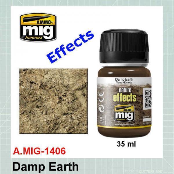 AMMO Mig 1406 Damp Earth