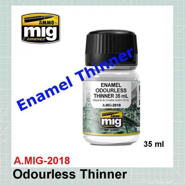 AMMO Mig 2018 Enamel Odorless Thinner
