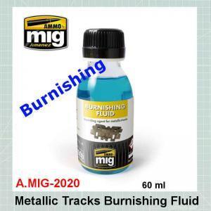 AMMO Mig 2020 Metallic Tracks Burnishing Fluid