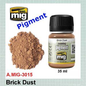 AMMO Mig 3015 Brick Dust Pigment