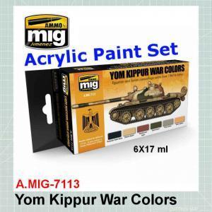 AMMO Mig 7113 Yom Kippur War Colors Set