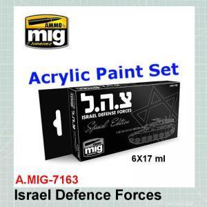 AMMO Mig 7163 IDF Special Edition