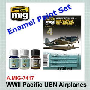 AMMO Mig 7417 WWII Pacific US Navy Airplanes