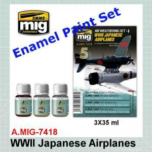 AMMO Mig 7418 WWII Japanese Airplanes