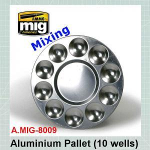 AMMO Mig 8009 Aluminium Pallet 10 Wells